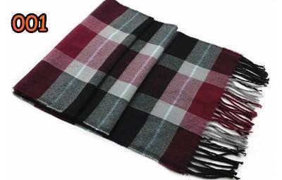 Мъжки карирани шалове // 180 - 30см