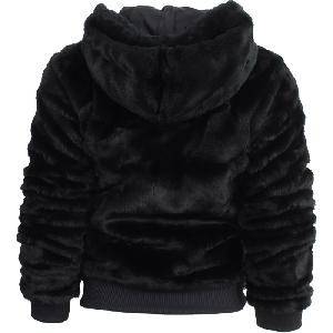 Γυναικείο μπουφάν για το  χειμώνα  Adidas μαύρο