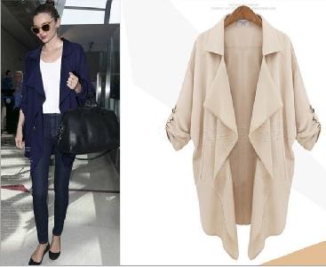 Средно-дълго дамско палто JYC