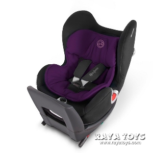 Подложка за лилаво детско столче за кола  Sirona Violet Spring // Cybex