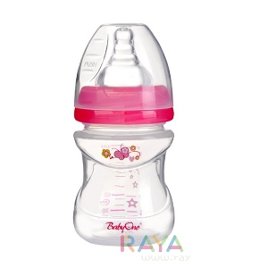 Бебешки шишета антиколик широко 120мл. два модела // Babyono