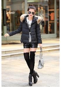 Χειμωνιάτικο μπουφαν  γυναικών με χνούδι με 6 μοντέλα