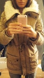 Дебело зимно женско яке с пух