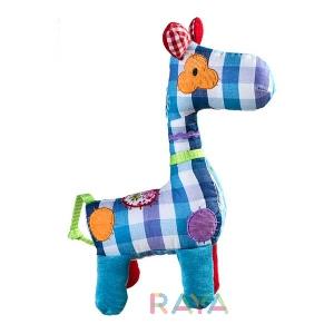 Плюшена детска играчка - дрънкалка  \