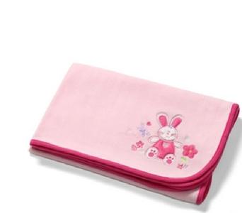 Розова бебешка пелена \