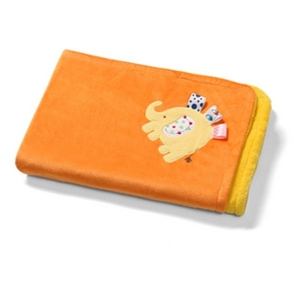 Оранжева бебешка пелена \