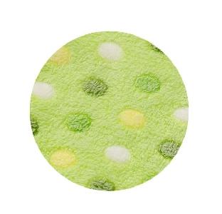 Зелена релефна бебешка пелена 75/100см. // Babyono
