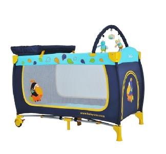 Сгъваема детска кошара за сън и игра // Babyono