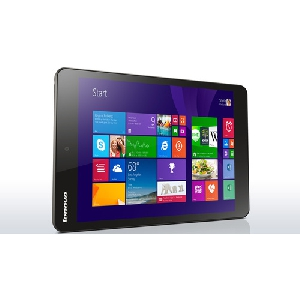 Черен таблет - Lenovo Miix 3 8\' IPS Intel Atom Z3735 up to 1.83GHz QuadCore, 2GB RAM, 32GB SSD, 2MP+2MP Cam, MicroUSB, WiFi, BT