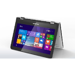Лаптоп Lenovo Yoga 300 11.6 HD Touch N2840 up to 2.58GHz, 2GB, 64GB SSD, HDMI, WiFi, BT, Win8.1,