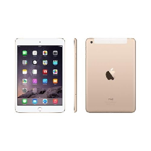 Златист Таблет - Apple iPad mini 3 with Retina display Cellular 16GB - Gold