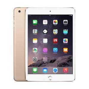 Златист Таблет - Apple iPad mini 3 with Retina display Wi-Fi 128GB - Gold