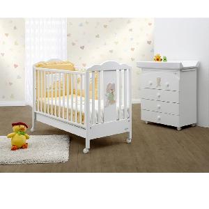 Бяло бебешко легло \