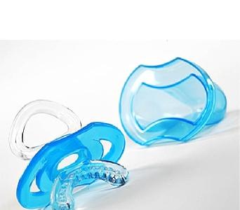 Силиконова бебешки дъвкалка 2 цвята // Babyono