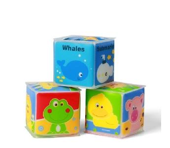 Меки мини бебешки кубчета Babyono