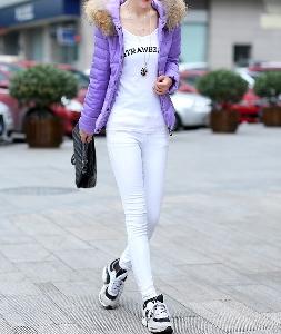 Зимно дамско яке с качулка