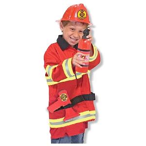 Детски пожарникарски костюм