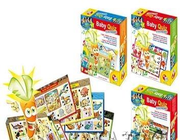 Логическа игра за бебета - LISCIANI GIOCHI - магически морков