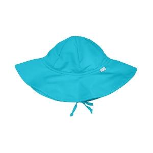 Стилни бебешка шапка за слънце с периферия 4 модела - разме L // Lassig