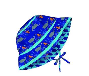 Двулицева бебешка шапка против слънце с периферия - Lassig Royal Shipwreck 0-6м