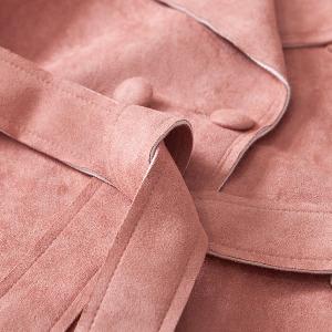 Модерно дамско велурено яке  - есенно-пролетно - три модела
