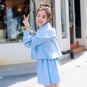 Дамско модерно яке с дълги ръкави, есенно-пролетно