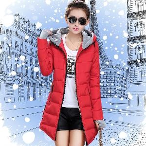 Зимно дамско яке с ръкавици - 4 модела