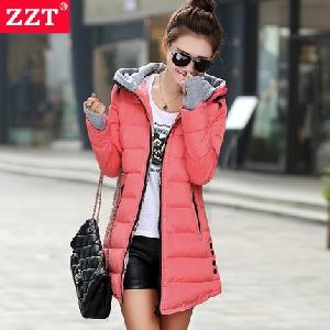 Зимно дамско яке с ръкавици - пет цвята