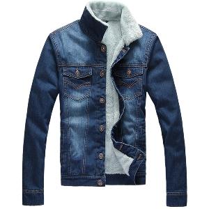 Мъжки дънкови якета - 5 модела