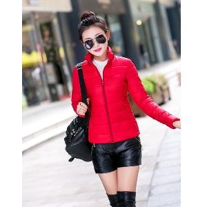Μοντέρνο γυναικείο μπουφάν φθινοπωρινό - διαφορετικά χρώματα