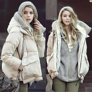 2015 Дебело зимно дамско яке сезон 2015