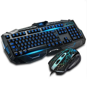 Комплект геймърска мишка и клавиатура - различни модели - USB