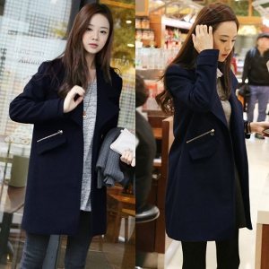 Дамско вълнено зимно палто - един модел, няколко размера