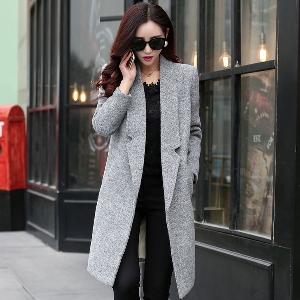 Дамско дълго зимно палто - подходящо за ежедневие и пътуване