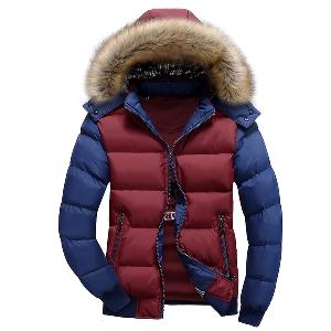 Мъжки зимни якета с и без пух - 6 модела