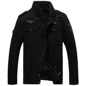 Зимни мъжки якета с кадифе - 6 модела