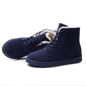 Дамски зимни обувки - стилни, пухени - различни модели и размери -