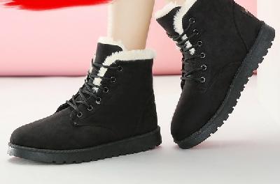 Γυναικεία χειμωνιάτικα παπούτσια - κομψά, χνουδωτά - διαφορετικά σχέδια και μεγέθη -