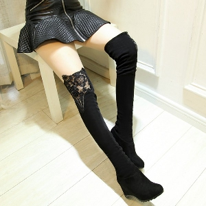 Γυναικείες κομψές μακριές μπότες από τεχνητό δέρμα - για το  φθινόπωρο και το χειμώνα - διαφορετικά μοντέλα