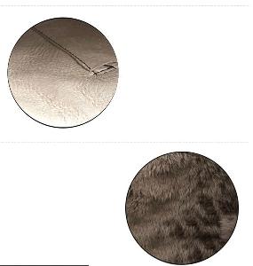 Дамски черни зимни ботуши с кадифена подплата и изкуствена кожа