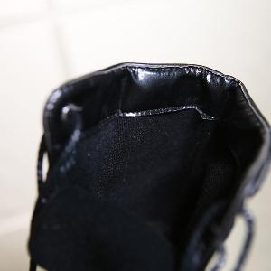 Дамски зимни водоустойчеви ботуши от изкуствена кожа - черни в няколко размера