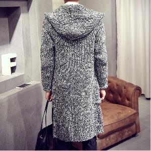 Ανδρικό Παλτό πλεκτό με κουκούλα - 3 μοντέλα - Badu.gr Ο κόσμος στα ... d0da49fbb21