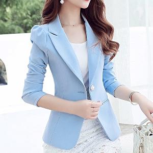 811b4aa91934 Γυναικείο κομψό κοστούμι σε διάφορα χρώματα - μπλε