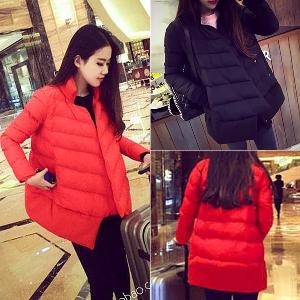 Γυναικείο μπουφάν για το  χειμώνα  ζεστό, δύο χρώματα