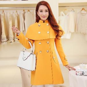 Уникално зимно дамско палто в три различни цвята