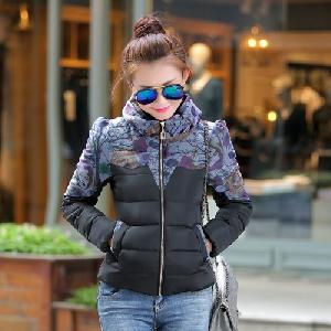 Дамски модерни зимни якета в различни модели - розови, жълти, сини, черни