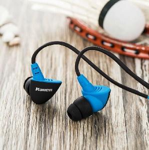Евтини и удобни слушалки за слушане на музика - тип тапи за спорт, разходка и пътуване - три различни цветови модела