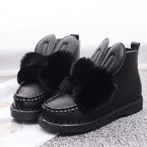 Модерни дамски обувки със заешки ушички