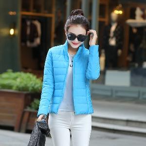 Ανοιξιάτικο βαμβακερό  μπουφάν για τις γυναίκες - μοντέρνο σε διάφορα χρώματα