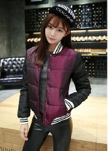 Дамски зимни якета - памучни в два стилни и топ модели